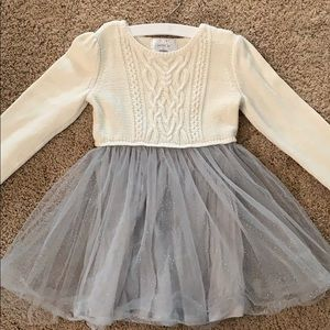 Gymboree sweater tutu dress